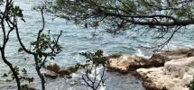 Trogir, Slatine terrain constructible avec magnifique vue mer