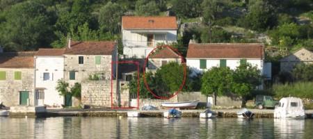Maison en pierre a renover, Ile de Drvenik Veliki-Trogir