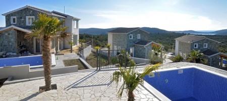 Rogoznica, villas neuves à vendre! Magnifique vue mer!