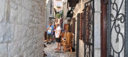 Maison en pierre dans le centre ville de Trogir