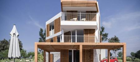 Appartement de luxe, trois chambres, jardin privé, première ligne de la mer