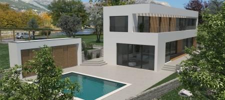 Terrain constructible, 635 m2, avec vue mer et permis de construire