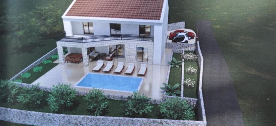 A vendre maison de style dalmate avec piscine