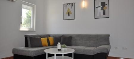Appartement avec deux chambres près de la plage, meublé, magnifique vue mer