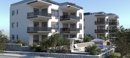 Čiovo, appartements avec vue mer panoramique