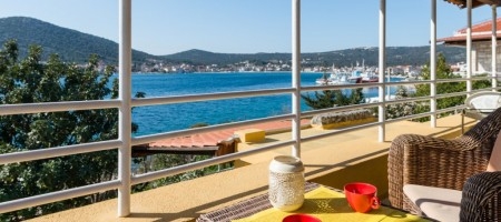Marina, maison à vendre premier ligne de la mer