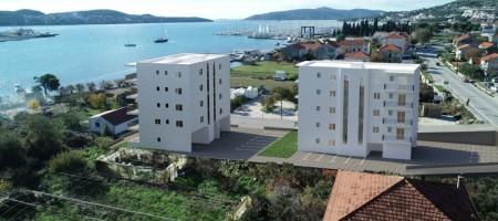 Seget, appartement avec deux chambres, 30 m de la mer