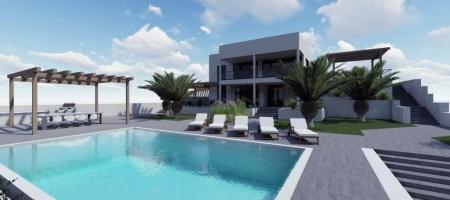 Villa moderne en première ligne de la mer