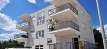 Okrug Gornji, appartement de deux chambres dans un immeuble neuf à 300 m de la mer