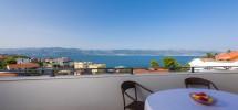 L'île de Čiovo, Slatine, appartements avec deux chambres à 120 mètres de la mer